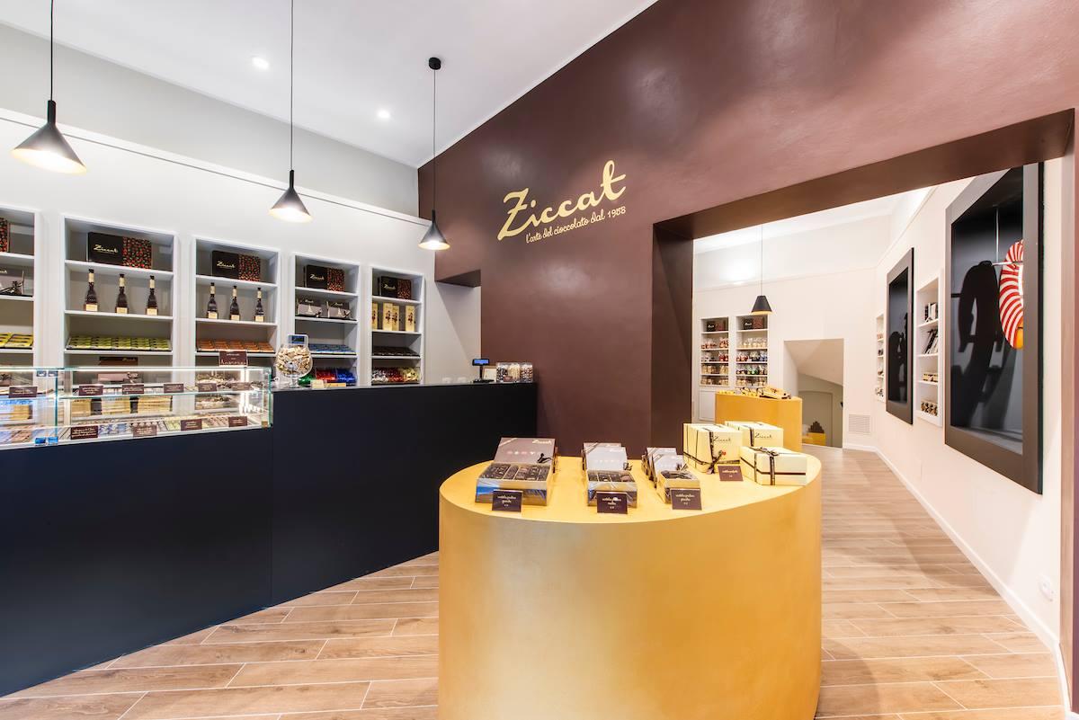Ziccat - Illuminazione negozio Torino - Luceper